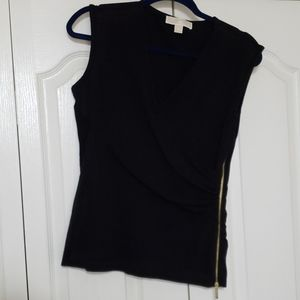 Michael Kors black top medium